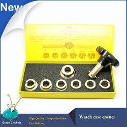 N. ° 5537 abridor de caja de reloj, juego de herramientas de reparación de relojes profesionales de 7 SizeTypes