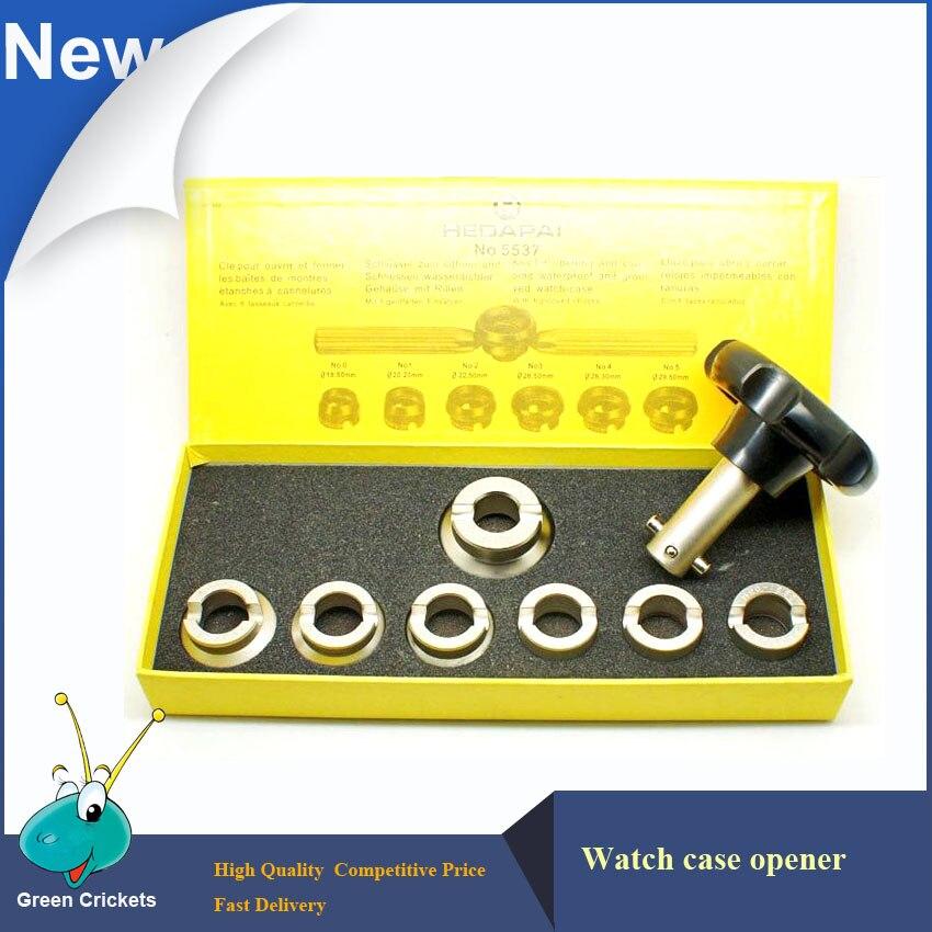 Набор инструментов для ремонта часов NO.5537, 7 размеров