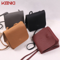 KN Mini Korean Style Mobile Phone Bag Crossbody Bags For Women Sac A Main Femme De Marque Simple Solid Women Leather Handbags