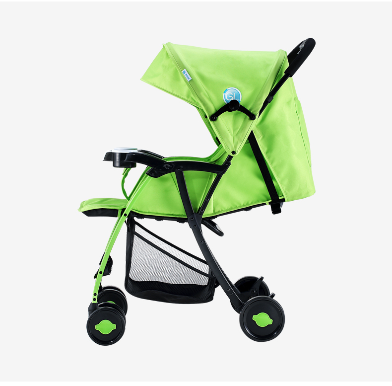 GL Baby Stroller Folding Umbrella Sit and Lie Portable Strong Alloy Steel Material 12