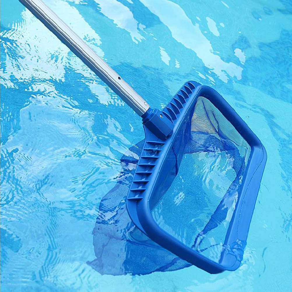 US $13.01 44% OFF|Leaf Rake Mesh Frame Net Skimmer Cleaner Swimming Pool  Tool Suitable for Cleaning Swimming Pool(Blue)-in Pool & Accessories from  ...