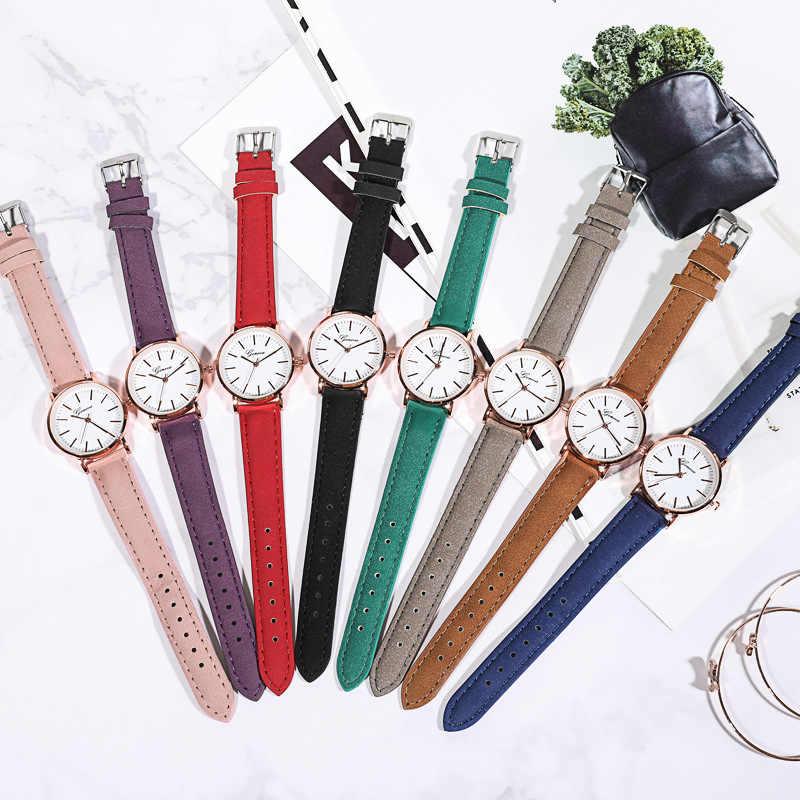Аналоговые часы подростковое платье часы Детские кварцевые наручные часы простые PU ремешок наручные часы в подарок для девочек детские часы Relogio Infantil