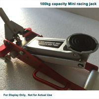 Mini Aluminum Racing Jack 100kgs Mini Service Jack Only For Display Last Ten Sets