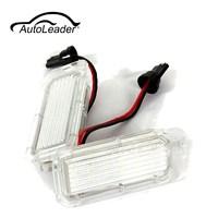1Pair 12V LED Number License Plate Light Bulbs Lamp For Ford Fiesta Focus Kuga C MAX