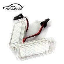 Autoleader 1 пара 12 В led номер Номерные знаки для мотоциклов Лампочки лампы для Ford/Fiesta/Focus/Kuga/c -MAX/Mondeo авто