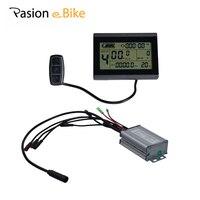 PASION E велосипедный контроллер Дисплей 24 V 36 V 48 V жk панель управления для электрических фэт байки ЖК дисплей Дисплей 25A Управление Лер Sondors Зап