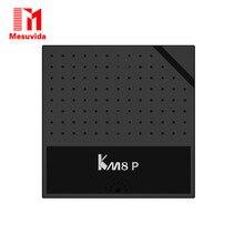 Оригинал Mesuvida Телеприставки Mecool KM8 P TV Box Amlogic S912 Octa Core CPU Android 6.0 с ТВ ЦЕНТР
