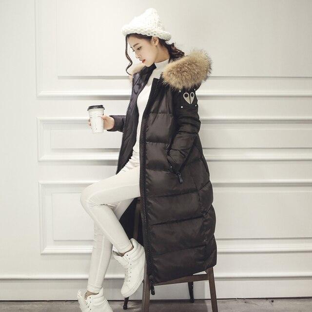 Aliexpress.com : Buy 2016 Winter Duck Down Jacket Women Long Coat ...