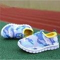 2016 novas crianças respirável sapatos sapatos meninos meninas sapatos da moda deslizar sobre sapatilhas ocasionais tênis esportes dos miúdos macio sole loafers
