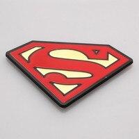 Metal Superman Emblem Decal Badge Sticker Vehicle Fenders Window 5 4 8 2 Mm