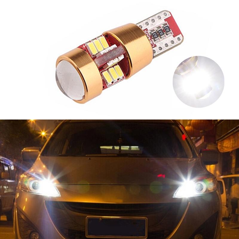 1x T10 W5W 27 <font><b>LED</b></font> 3014SMD Parking Lights Sidelight No Error For <font><b>Mazda</b></font> 323 626 cx-5 3 6 8 Atenza <font><b>cx7</b></font> cx-7 mx5 cx3 rx8 cx5 image