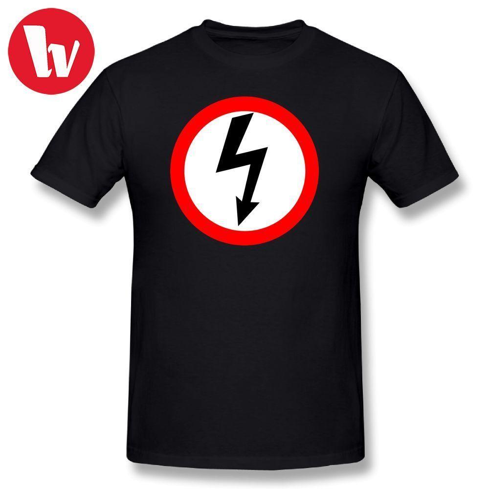 32d6dd0cff2b Marilyn Manson T Shirt Shock Print Summer Men T-Shirt Cotton Tshirt Short  Sleeve T