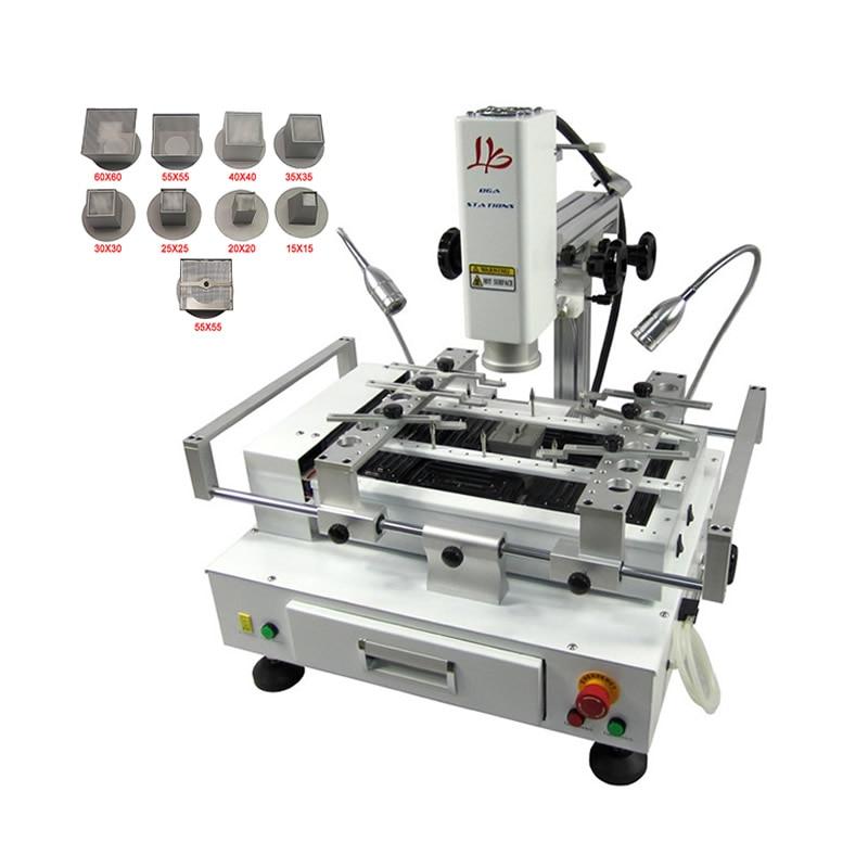 4000 W Air Chaud À Souder Station BGA Rebillage Machine avec Système de Caméra CCD En Option pour Puces à Retravailler la Carte Mère Réparation