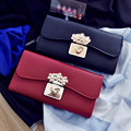2017 Fashion Ladies Brand Handy Long Wallet Women Luxury Leather Credit Card Holder Money Wallets and Purse for Female Party