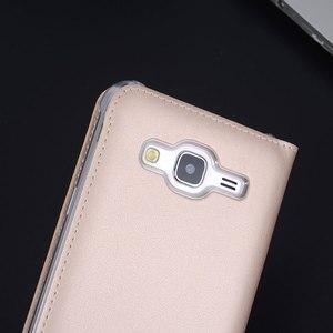 Image 5 - Flip Housse En Cuir Pour Samsung Galaxy J3 2016 GalaxyJ3 J 3 SM J320F J320FN J320H J302M SM J320F SM J320FN SM J320H
