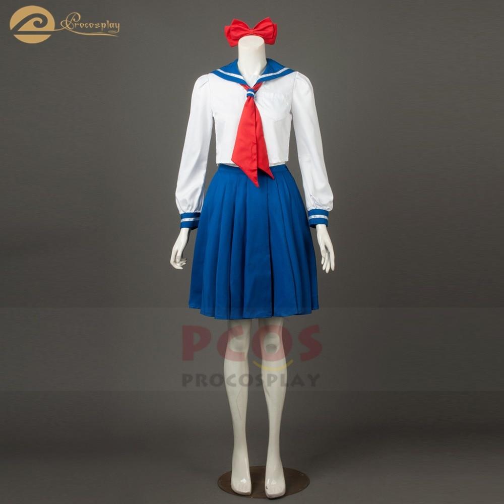 Sailor Moon Sailor Venus Minako Aino Cosplay Costume School uniform anime sailor moon cosplay costume mp003719