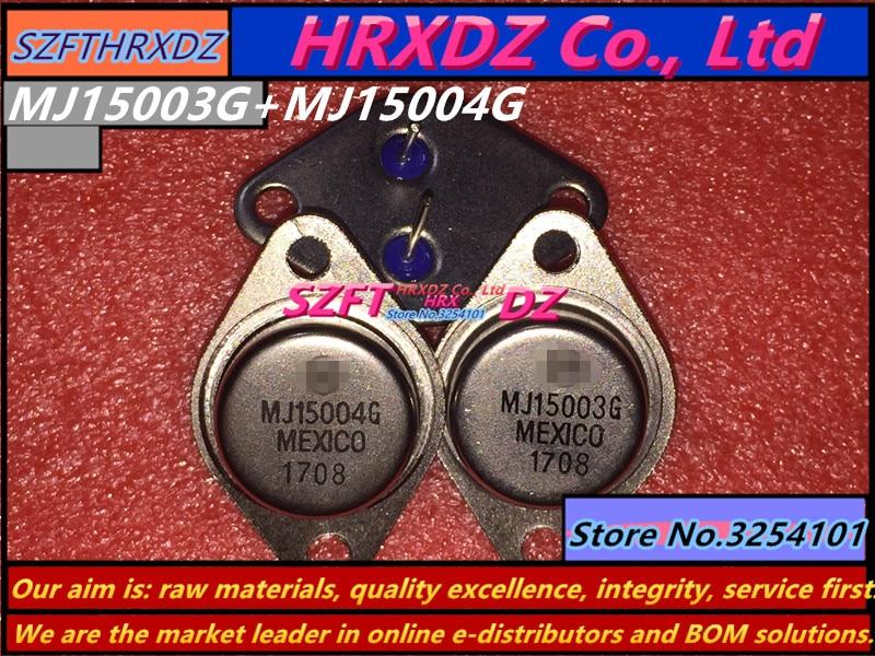 SZFTHRXDZ 100% new original 10pcs=5sets MJ15003G + MJ15004G MJ15003 + MJ15004 TO-3 10pcs 100% new original ior3707 3707