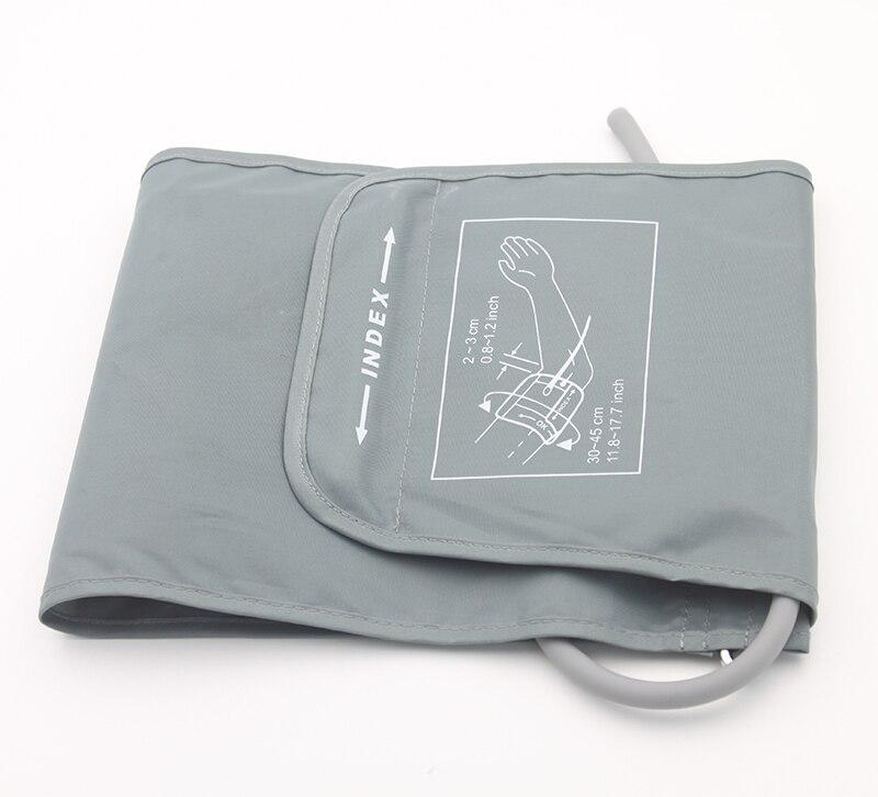 Heim-gesundheitsmonitor Schneidig Extra Große 32-43 Cm Erwachsene Manschette Für Arm Blutdruck Monitor Meter Tonometer Single-tube-blutdruckmessgerät Arm Nylon Gesundheitsversorgung
