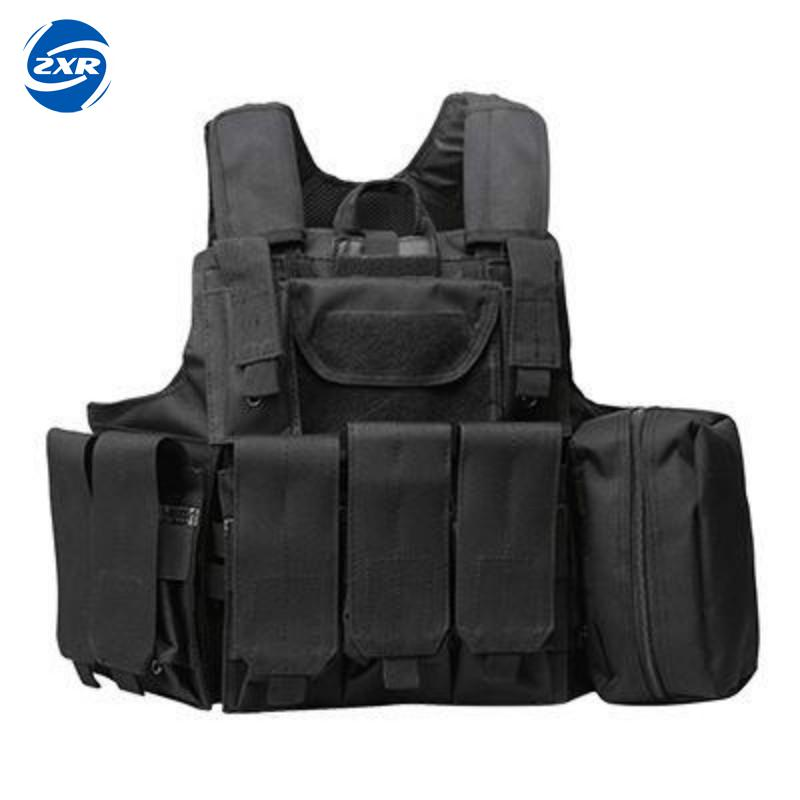 Tactical Military Airsoft Molle Combat Assault Plate Carrier Vest Hunting Vest CS Outdoor Equipment Army Camouflage Black