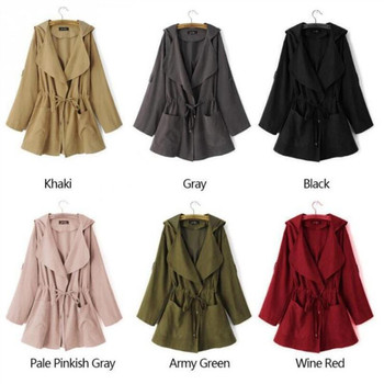2020 Bomber Long Coat with Hood Womans Fashion 2