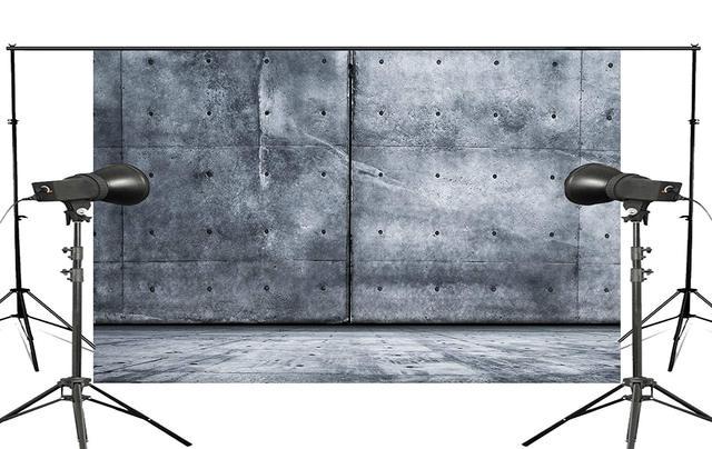 5x7ft grande pierre bleue photographie fond toile toile Photo Studio Prop mur