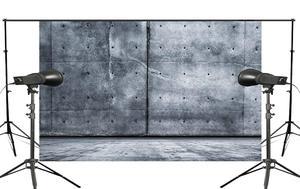 Image 1 - 5x7ft الأزرق الكبير الحجر التصوير خلفية خلفية قماش استوديو الصور الدعامة جدار