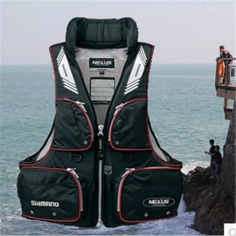 Sport Amovible Respirant gilet de Sauvetage Vie Gilet De Pêche Gilet De Pêche Vêtements De Pêche Vêtements S'attaquer Flottation Gilet