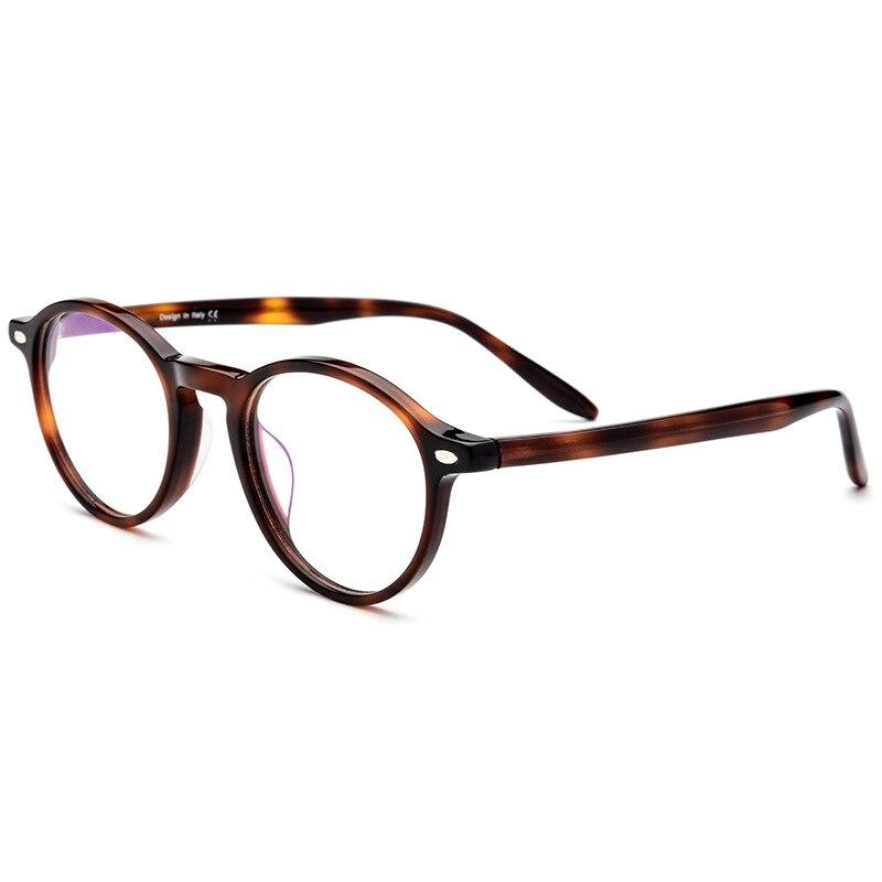 Logorela Vintage rétro rond lunettes marque Designer pour femmes lunettes de mode hommes optique lunettes de vue cadre lunettes 19103