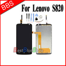 100% New Replacement LCD Display Screen With Touch Digitizer Assembly For Lenovo S820 LCD