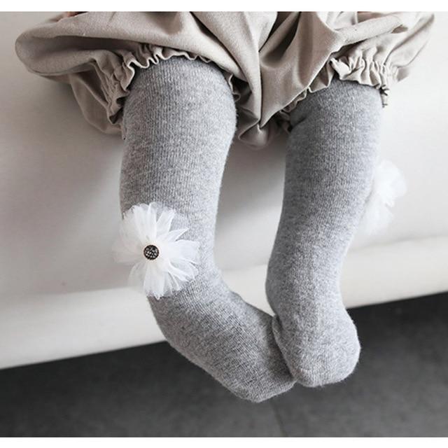d1255553d baby tights toddler girls pantyhose cotton newborn little girl tight ...