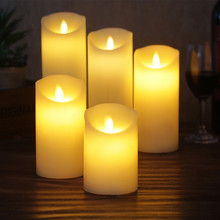 led candle made by paraffin wax,flameless wax for Christmas Decorative,Home Room,Wedding Decoration