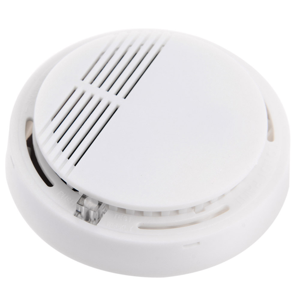 Smart Wireless 433mhz Alarm Security Smoke Fire Detector 85db Home Security System For Indoor Shop Smoke Alarm Sensor Access Control Accessories