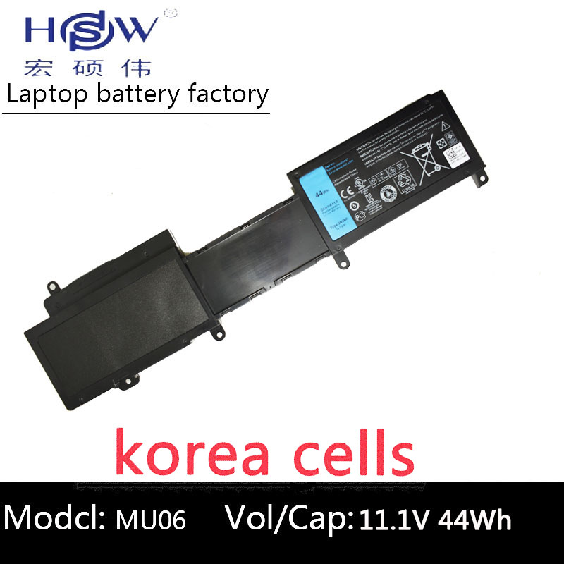 купить HSW notebook battery 11.1v 44WH For DELL 2NJNF For Inspiron 14z (5423) 15z (5523) bateria akku по цене 2509.11 рублей