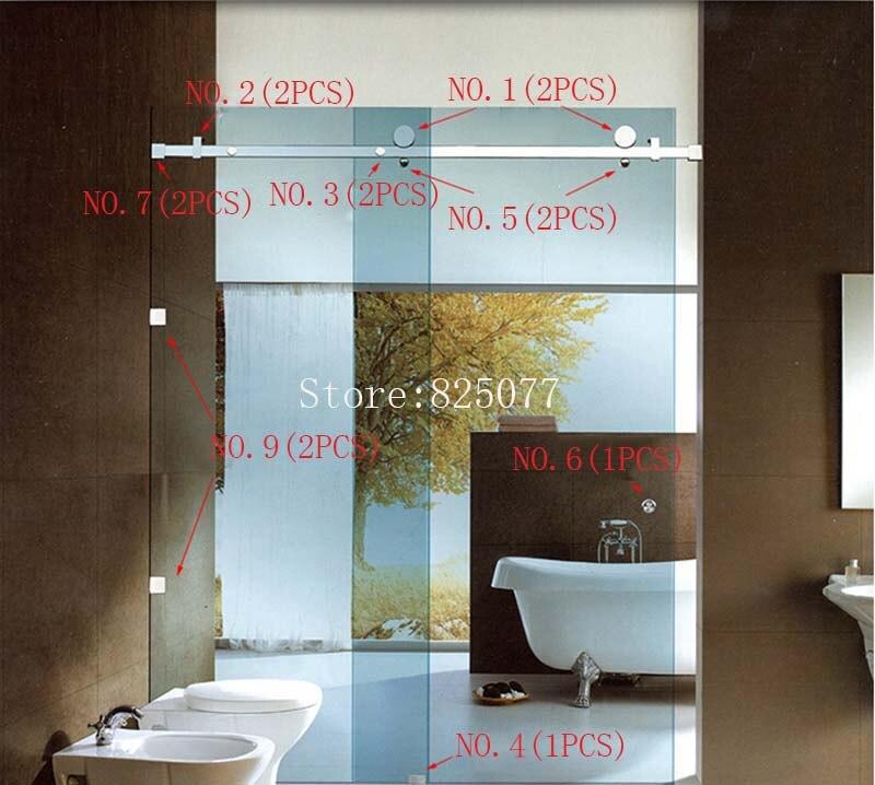 Aliexpress.com : Buy Free Shipping (No glass & No Bar) sliding glass ...