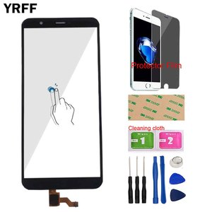 Touch Screen For Huawei P Smart FIG-LX1 FIG-L21 FIG-L22 Touch Screen Digitizer Panel Front Glass Sensor Tools Protector Film