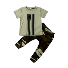 Newborn Kids Baby Boys Clothing Set Tops T-Shirt Camouflage Pants Outfits Clothes Baby Boy Newborn Costume Cotton Boys Tracksuit newborn infant baby boys girls clothes set t shirt tops short sleeve pants cute outfits clothing baby boy