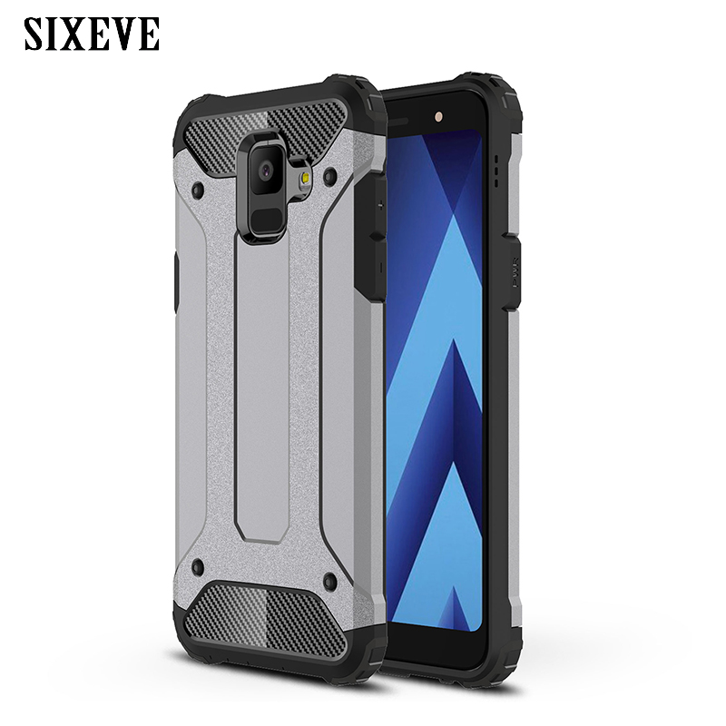 Armor Case For <font><b>Samsung</b></font> Galaxy J7 Neo Nxt Core For A3 A5 A7 J2 J3 <font><b>J5</b></font> J7 2015 2016 2017 Pro Prime J4 J6 A6 A8 Plus 2018 Hard Cover image