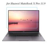 Laptop Screen Protector für Huawei Matebook X Pro 13,9 2019 2020 Notebook Gehärtetem Glas 0,3 MM 9H Transparent Schutzhülle film
