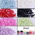 Multi Colors Flatback Half-Round Acrylic Pearl for Nail Art Phone Craft 3mm Non Hotfix in Bulk 01XX 4BE4