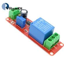 1 шт. NE555 таймер переключатель Регулируемый Модуль реле задержки времени модуль DC 5 В/12 В реле задержки щит