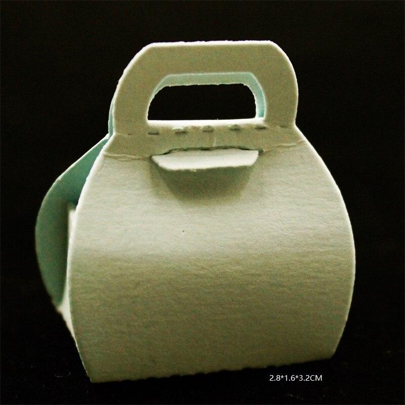 ZFPARTY  Gift Basket Metal Cutting Dies Stencils for DIY Scrapbookingphoto album Decorative DIY Paper Cards