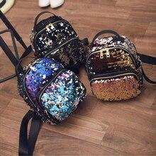 New Arrival Girls Small Travel Princess Glitter Backpacks