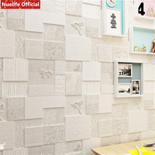 Irregular pattern TV background waterproof 3D wall stickers kids room living bedroom anti-collision soft bag wallpaper