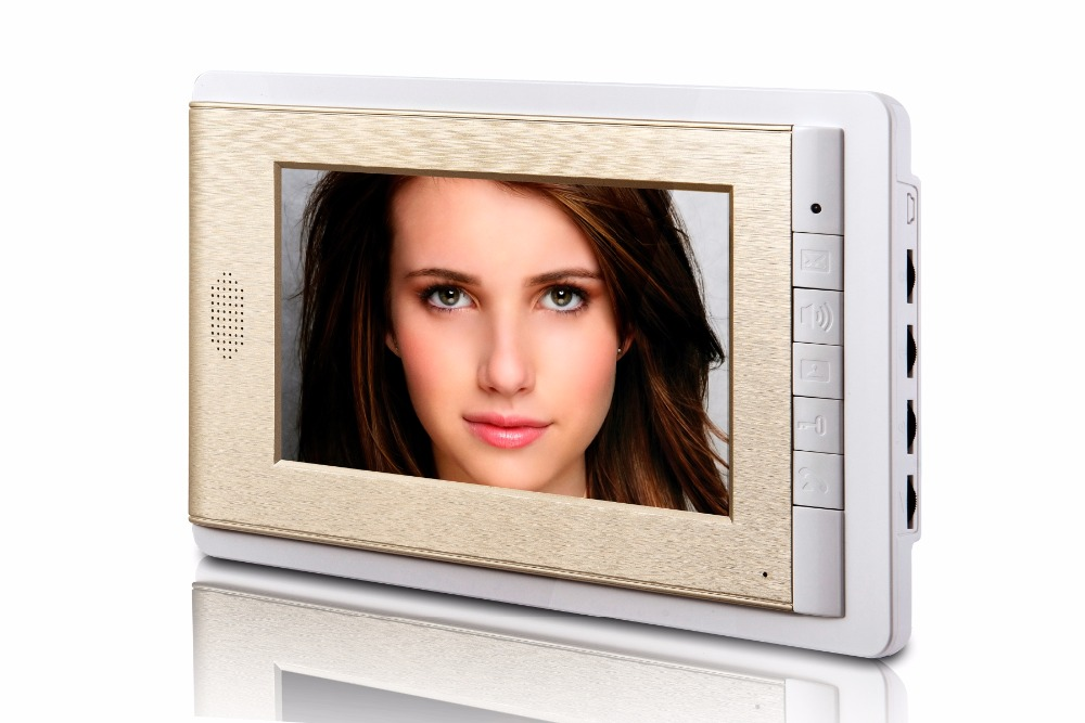 7 inch Color TFT Monitor For Wired Video Door Phone XLS-V70C crown xls 1000
