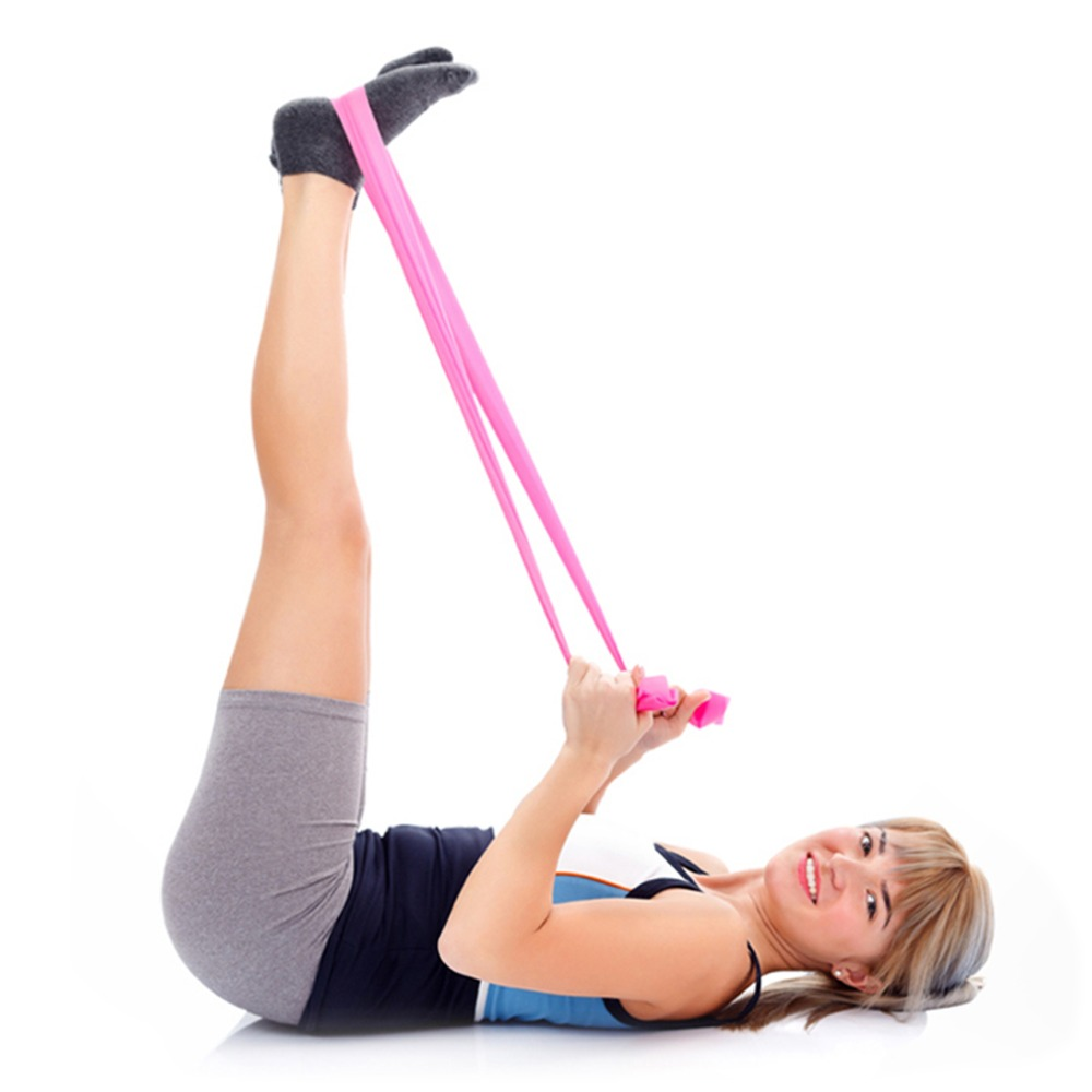 Exercise Bands Exercises Arms: 1.2m Elastic Yoga Pilates Rubber Stretch Exercise Band Arm
