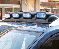 Автомобильные прожекторы на крышу комбинированные Автомобильные фары внедорожные транспортные средства регулируемые боковые огни разряд