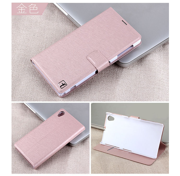 New Fashion Ultra thin Leather Book Cover Case For Sony Xperia Z1 L39H With Card Holder