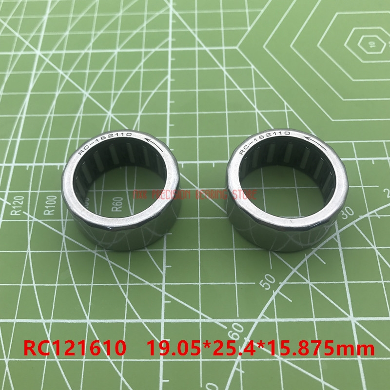 Rc121610 Inch Size One Way Drawn Cup Needle Bearing 19.05*25.4*15.875 Mm ( 2 Pcs ) Cam Clutches Rc 1