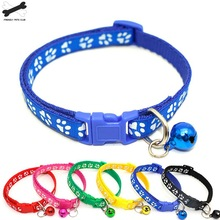 Easy Wear Cat Dog Collar With Bell Adjustable Buckle Puppy Pet Supplies Accessories Small Chihuahua23