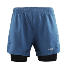 Quick Dry Running Shorts Workout GYM font b Fitness b font Shorts Training Shorts With Back